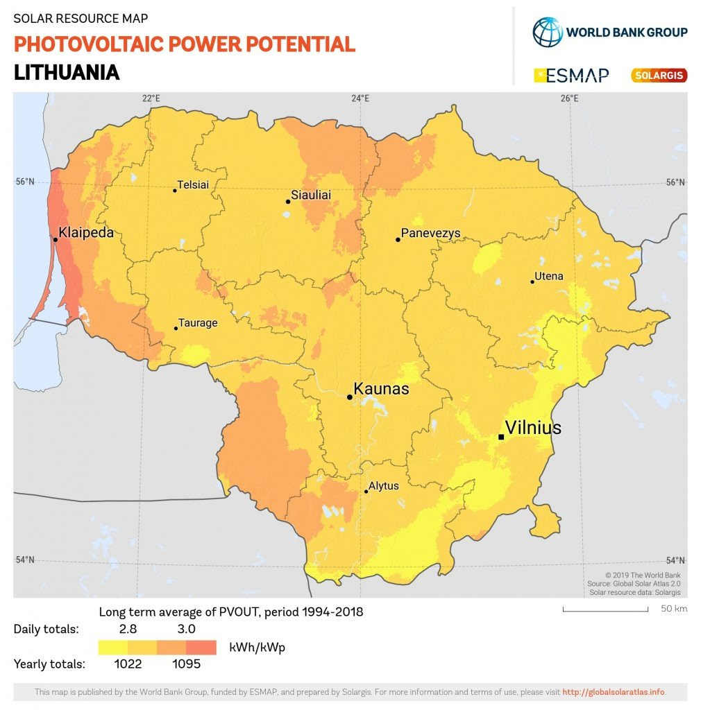 Saulės energija Lietuvoje