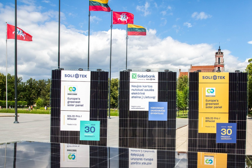 SoliTek saulės moduliai sertifikuoti Cradle to Cradle sertifikatu