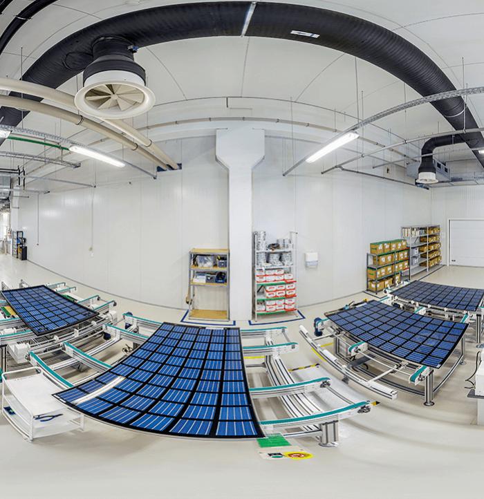 Virtualus turas po SoliTek gamybos patalpas